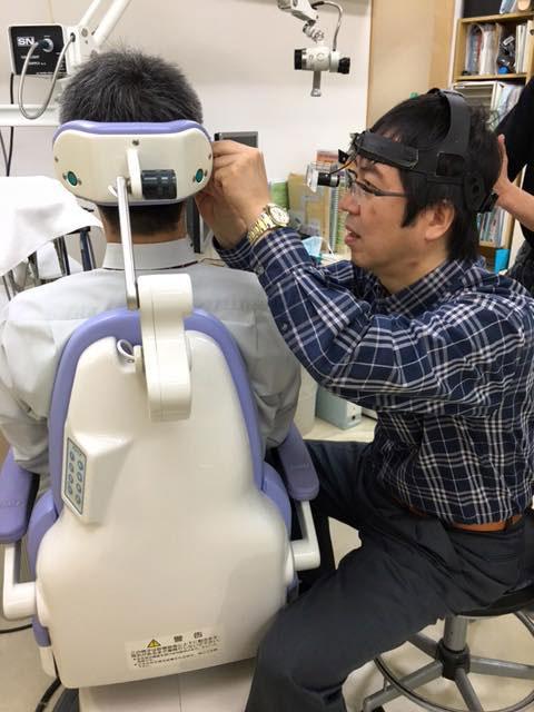 耳鏡による鼓膜診察