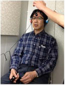 聴力検査(気導及び骨導計測)